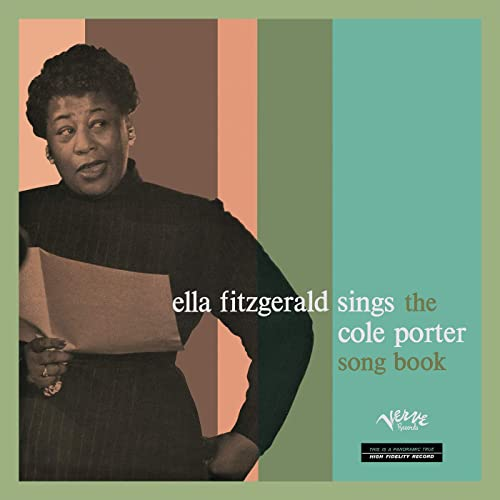Used CD - Ella Fitzgerald - Sings the Cole Porter Song Book (24 Karat Gold)