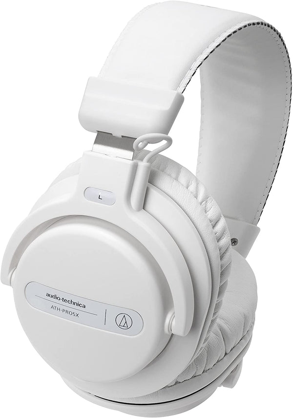 Audio-Technica - ATH-PRO5X DJ Headphones (White)