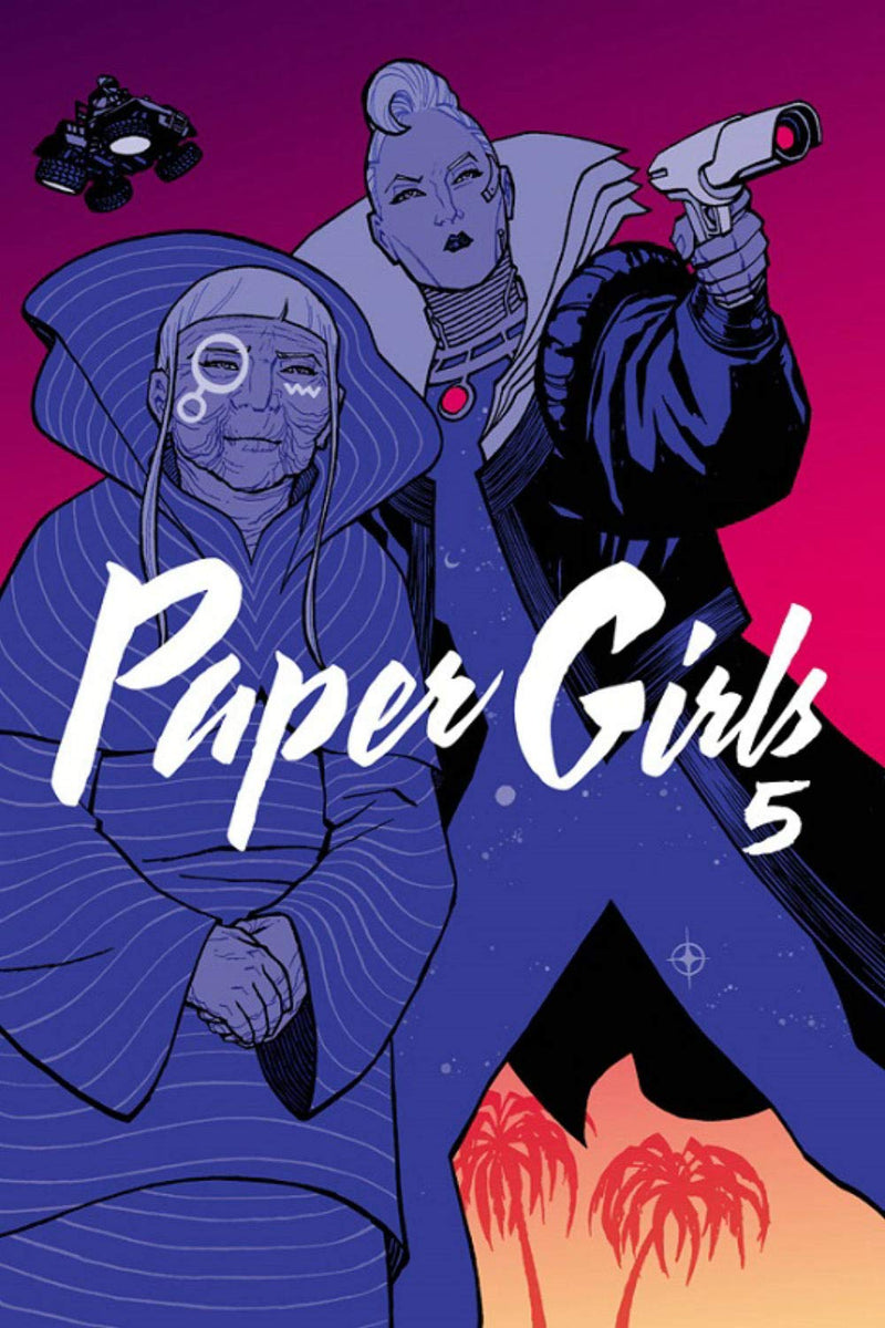 Brian K. Vaughan - Paper Girls Vol. 5 (New Book)