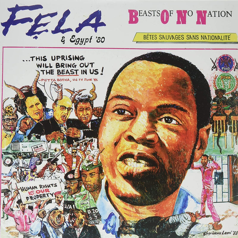Fela Kuti - Beasts Of No Nation (New Vinyl)