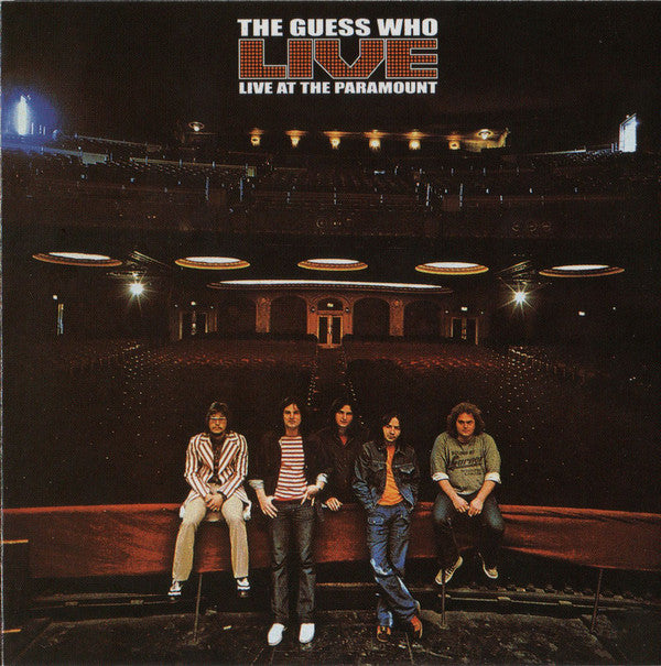 Used CD - Guess Who - Live At The Paramount (Rm)