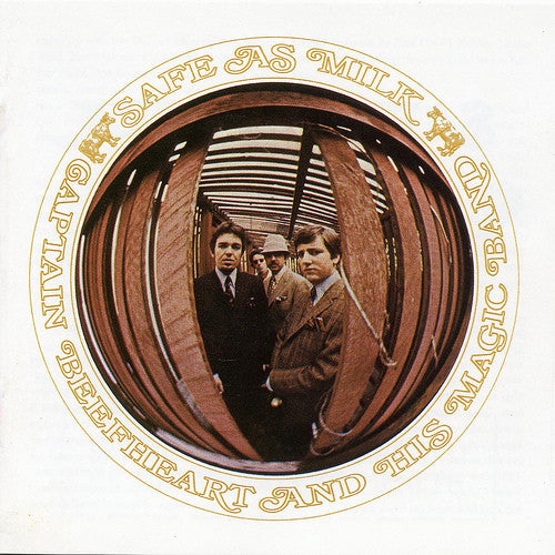 Used CD - Captain Beefheart And His Magic Band ‎– Safe As Milk
