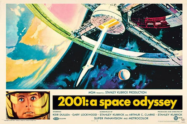 "A Space Odyssey (POSTER) 24"" x 36"""