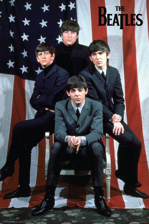 "Beatles - Flag (POSTER) 24"" x 36"""