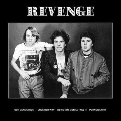Revenge - Four Song Ep (New Vinyl)