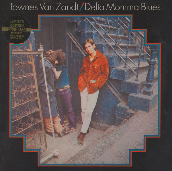 Townes Van Zandt - Delta Momma Blues (New Vinyl)