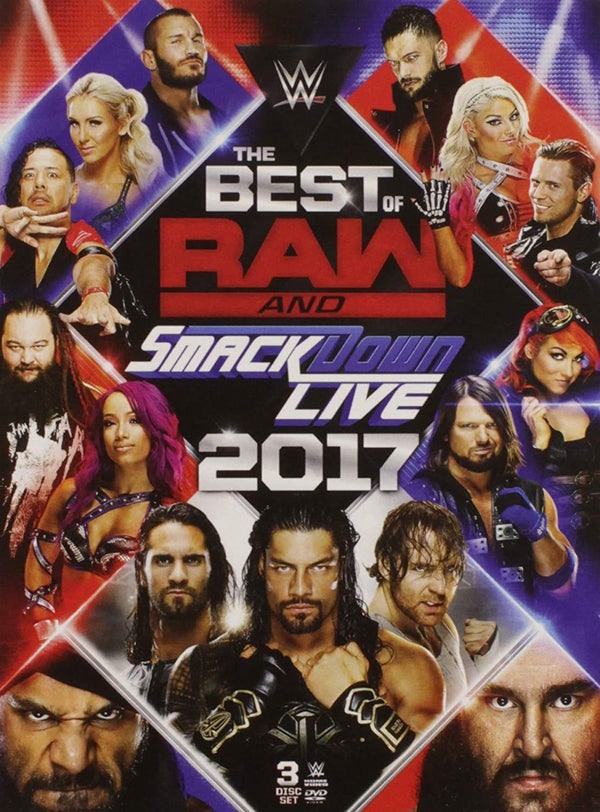 Best Of Raw And Smackdown 2017  (New DVD)