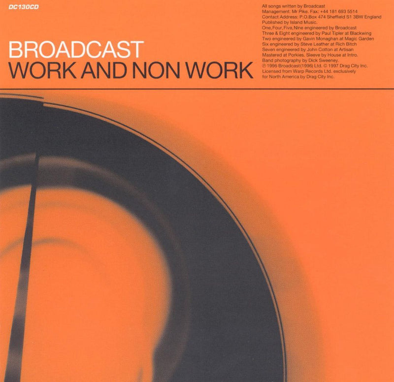 Broadcast - Work And Non-Work (New Vinyl)