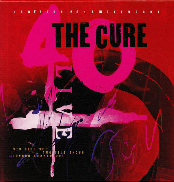 Cure - The Cure ?- 40 Live (Cur?ªtion-25 + Anniversary) (NEW CD)