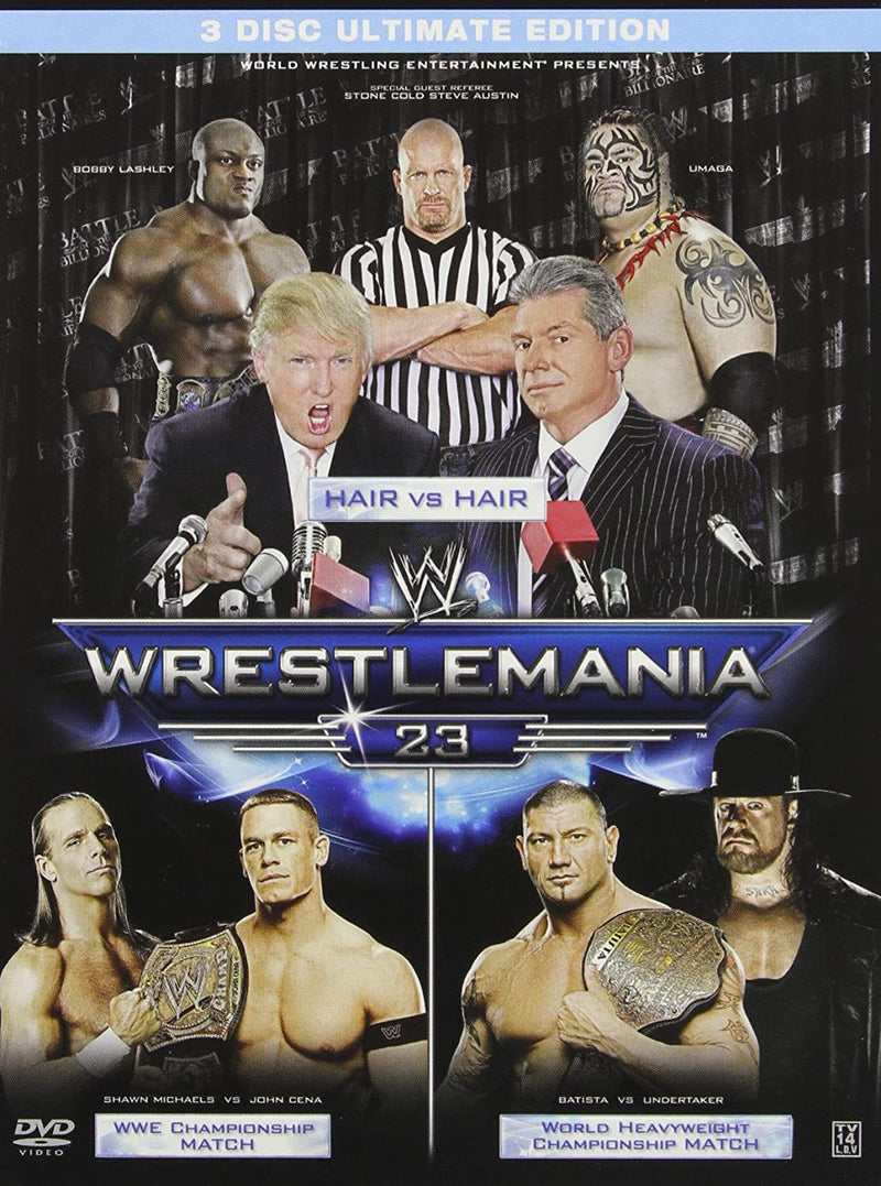 Used DVD - WWE Wrestlemania Wrestlemania 23