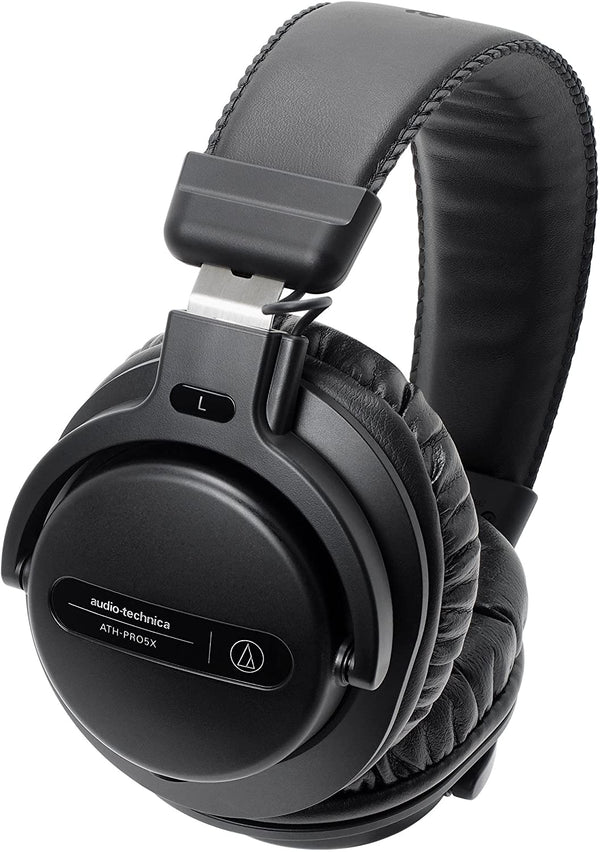 Audio-Technica - ATH-PRO5X DJ Headphones (Black)