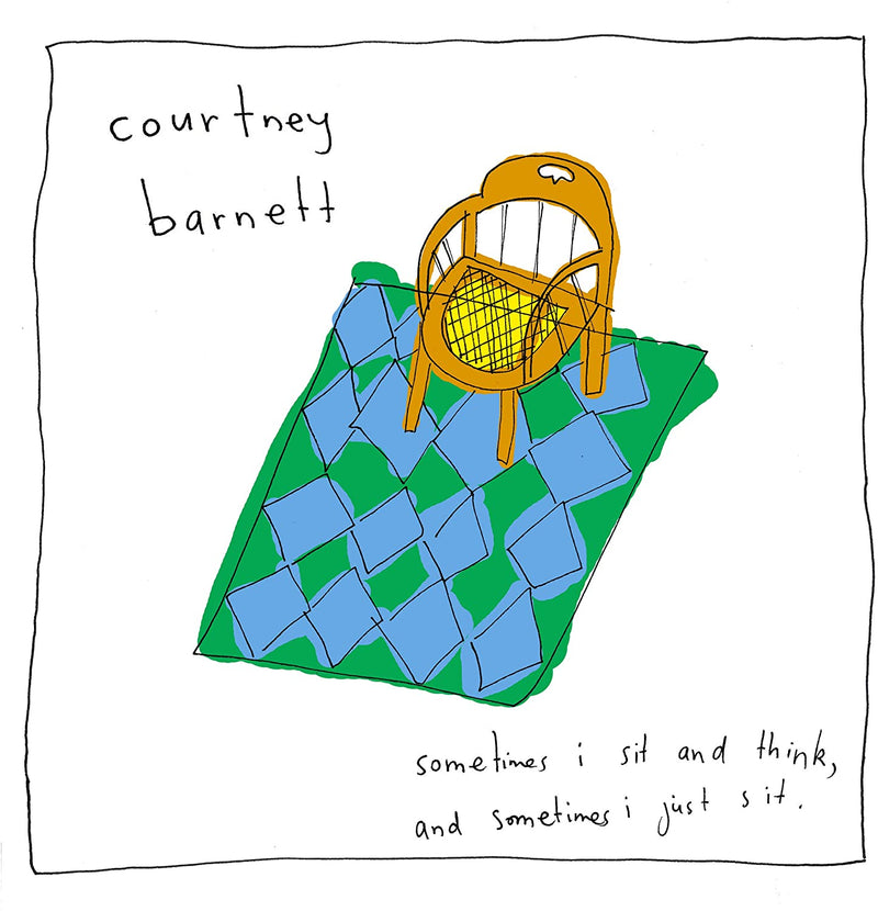 Courtney Barnett - Sometimes I Sit and Think, and Sometimes I Just Sit (NEW CD)
