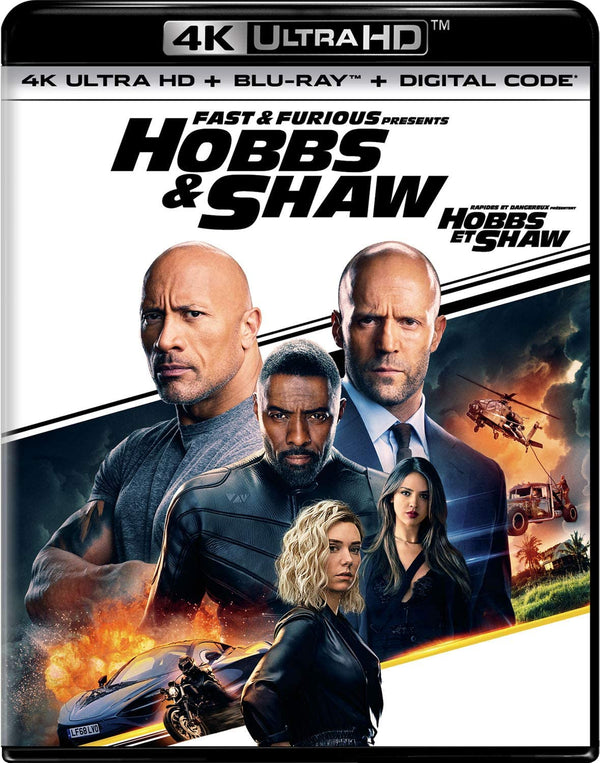 Used 4K Ultra HD - Hobbs & Shaw