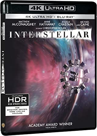 Used 4K Ultra HD - Interstellar