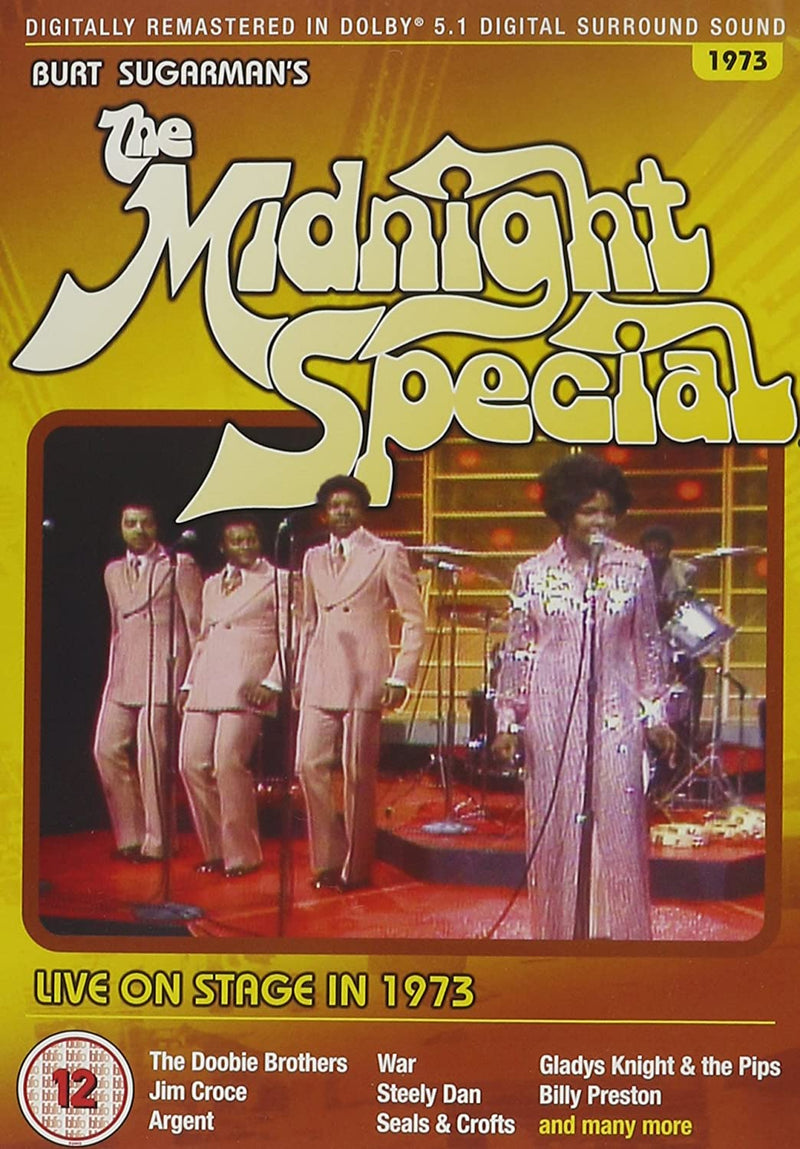 Used DVD - The Midnight Special - 1973