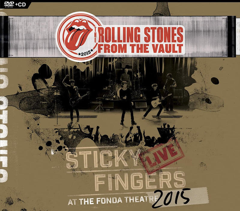 Rolling Stones - Sticky Fingers: Live At Th (NEW CD w/DVD)