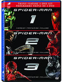 Used DVD - Spider-Man 1-3 (Sam Rami Films)