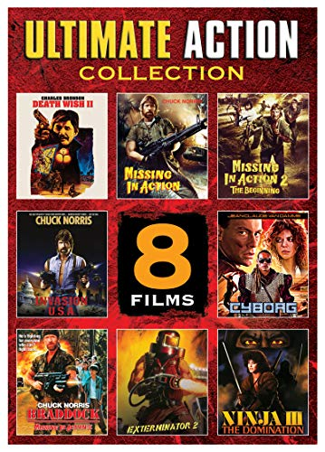 Ultimate Action Collection 8 Films (New DVD)