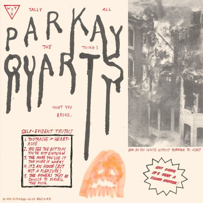 Parquet Courts - Tally All The Things That You (New Vinyl)