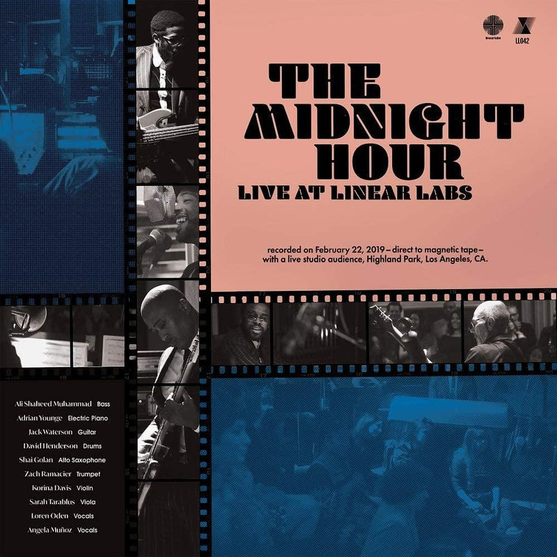 Adrian Younge & Ali Shaheed - Midnight Hour Live Linear Labs (New Vinyl)