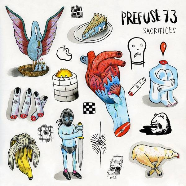 Prefuse 73 - Sacrifices (New Vinyl)