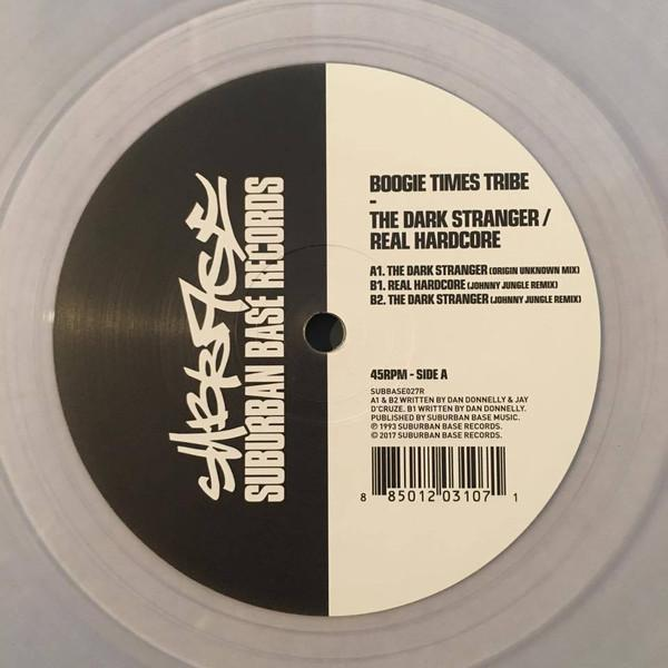 Boogie Times Tribe - The Dark Stranger / Real Hard (New Vinyl)