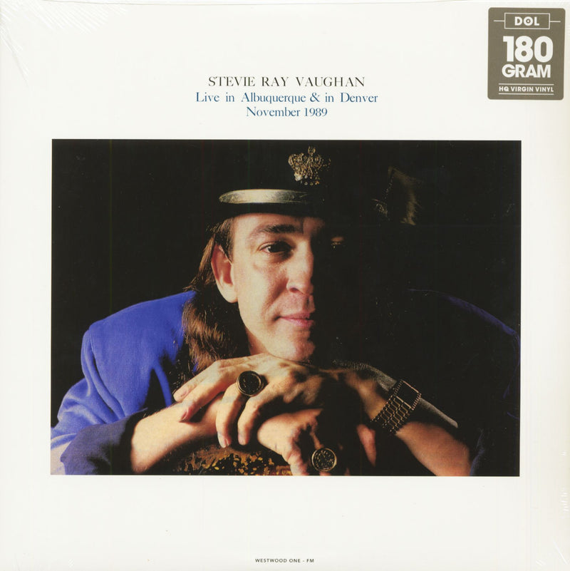 Stevie Ray Vaughan - Live In Albuquerque & Denver (New Vinyl)