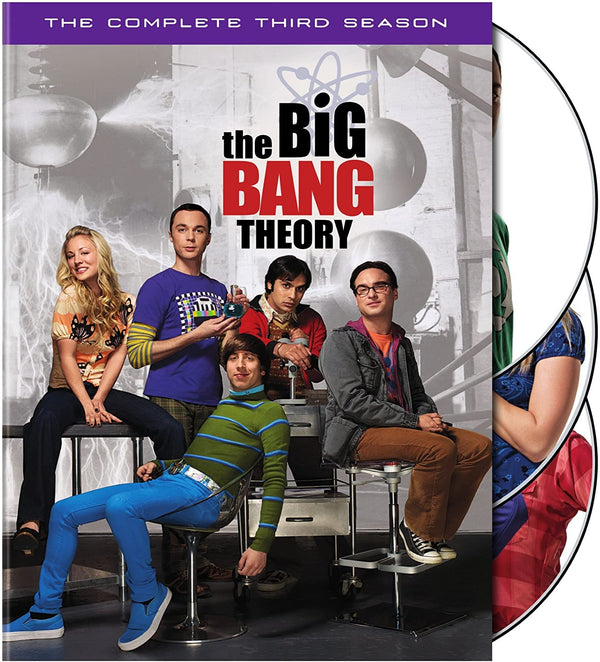 Used DVD - The Big Bang Theory - Season 3