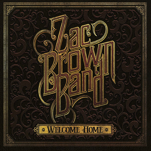 Used CD - Zac Band Brown - Welcome Home