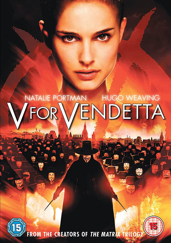 Used DVD - V For Vendetta