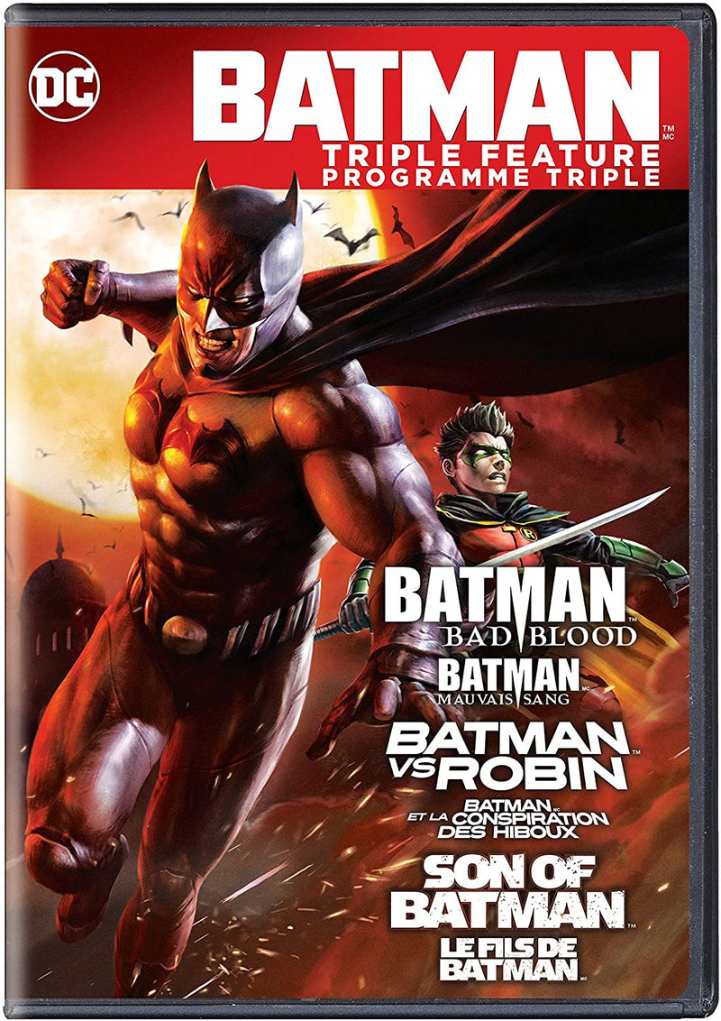 Used DVD - Batman - Triple Feature