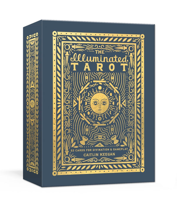 The Illuminated Tarot by Caitlin Keegan (Card Deck)