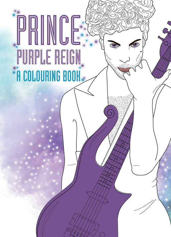 Prince: Purple Rain: A Coloring Book (Book)