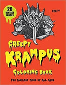 Creepy Krampus Coloring Book (Book)