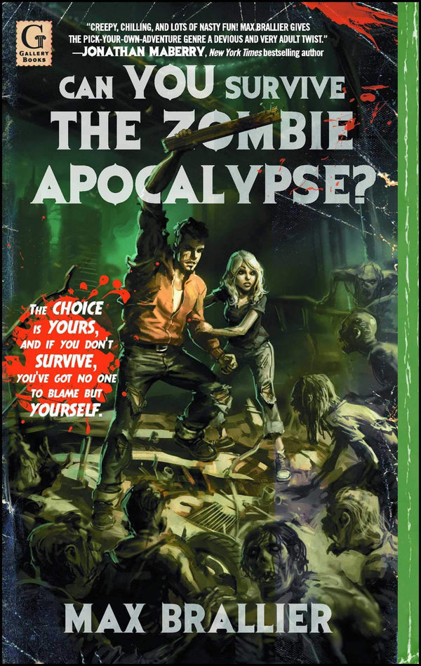 Can You Survive The Zombie Apocalypse (Book)
