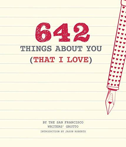 642 Things About You (That I Love) (Book)