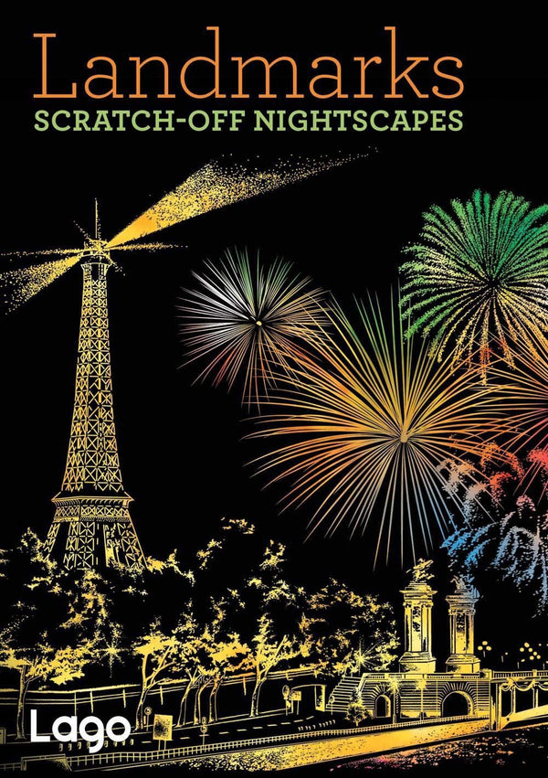Landmarks: Scratch-Off Nightscapes (Book)