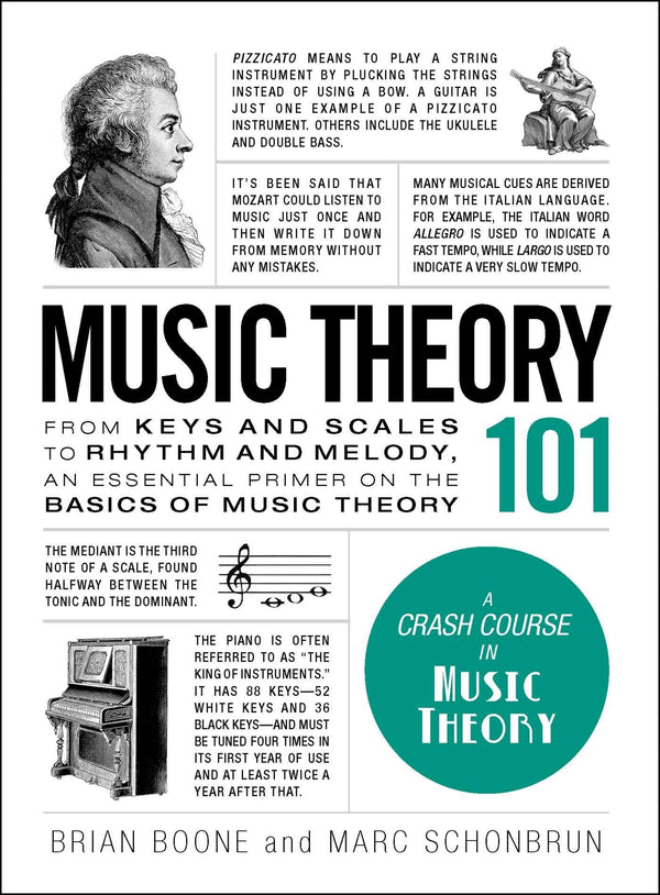 Music Theory 101: From Keys And Scales To Rhythm And Melody, An Essential Primer On The Basics Of Music Theory (Book)