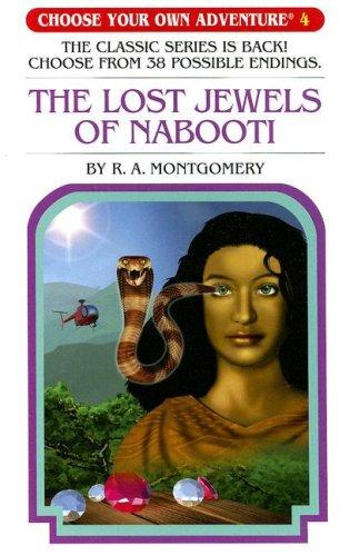 Lost Jewels Of Nabooti (Choose Your Own Adventure) (Book)