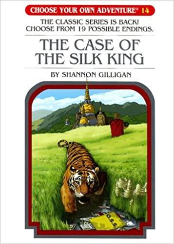 Case Of The Silk King (Choose Your Own Adventure) (Book)