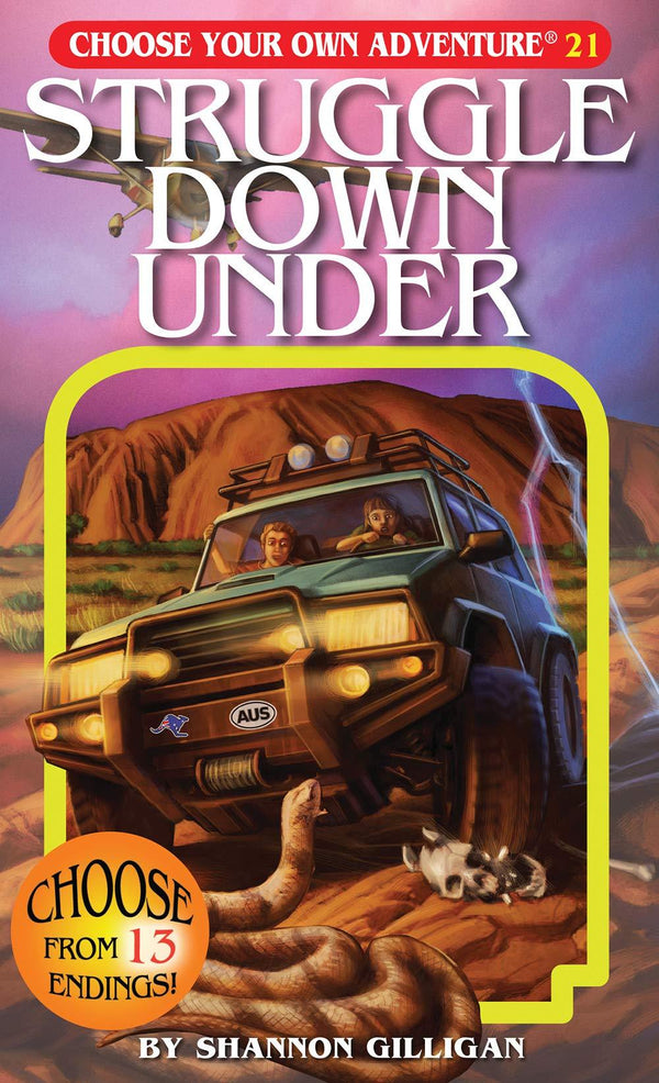 Struggle Down Under (Choose Your Own Adventure) (Book)