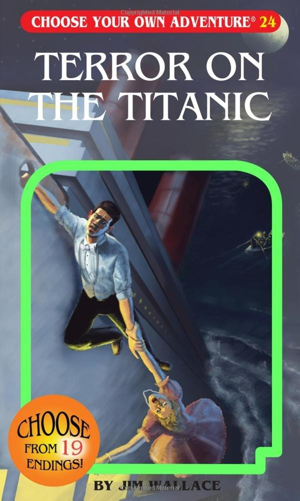 Terror On The Titanic (Choose Your Own Adventure) (Book)