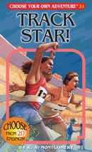 Track Star! (Choose Your Own Adventure) (Book)