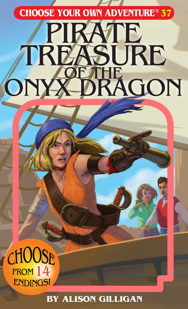 Pirate Treasure Of The Onyx Dragon (Choose Your Own Adventure) (Book)