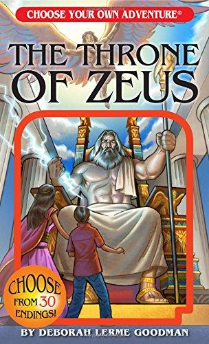 The Throne Of Zeus (Choose Your Own Adventure) (Book)