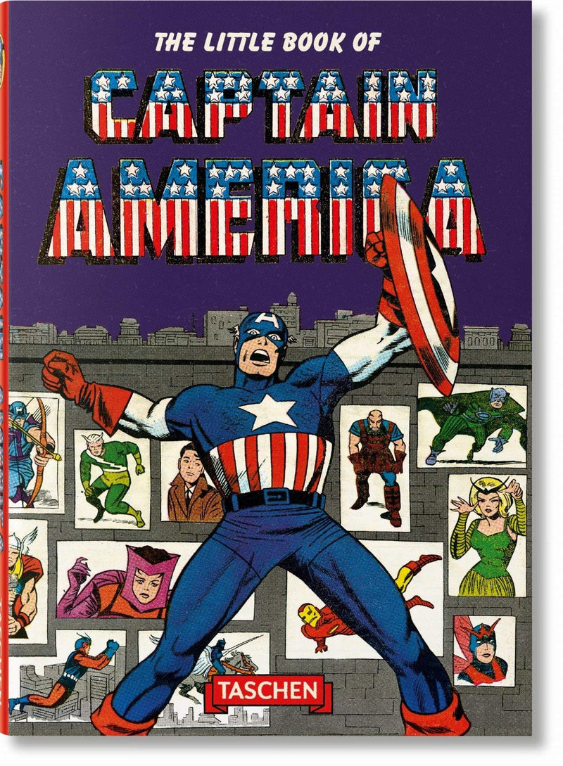 Little Book Of Captain America (Book)