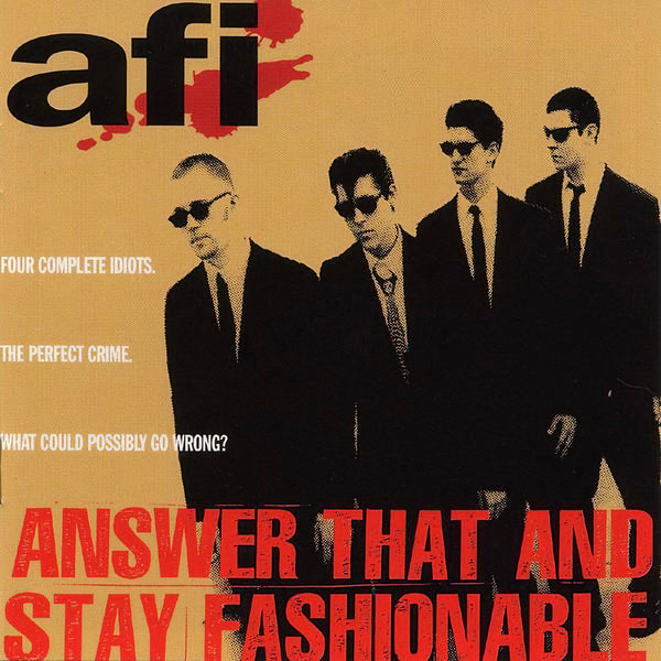 A.F.I. - Answer That And Stay (New Vinyl)