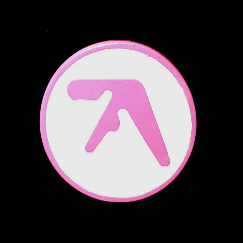 Aphex Twin - Pink and White - Enamel Pin