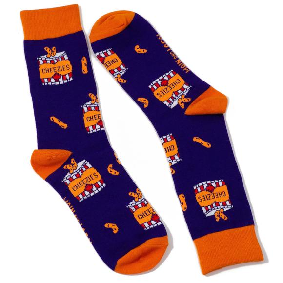 Main & Local Canadian Cheezies Socks (ONE SIZE)
