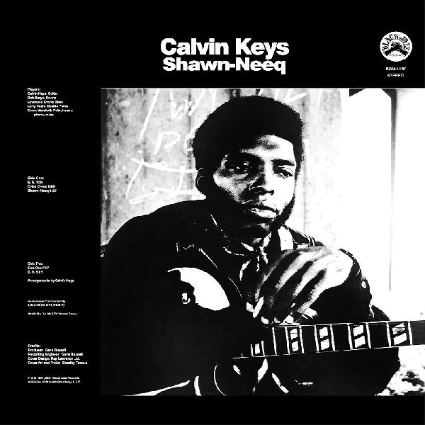 Calvin Keys - Shawn-Neeq (Remastered) (New CD)